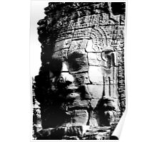 The Smiling Face of Buddha - Siem Reap Poster