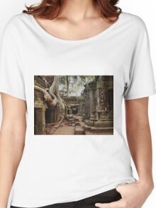 Temple, angkor Wat. Cambodia Women's Relaxed Fit T-Shirt