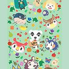 Animal Crossing New Leaf Town Folk by TurtlesSoup
