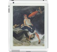 torpedo to the head iPad Case/Skin