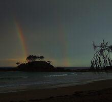 """'Distant Rain"""" by debsphotos"""