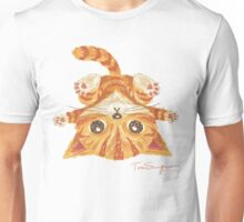 Tabby upside-down Unisex T-Shirt