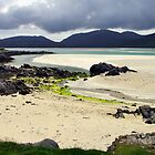 Across Luskentyre Bay by jacqi