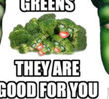 Good Greens Sticker