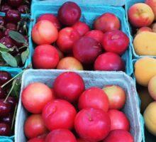 Union Square Farmer's Market Fruit Sticker