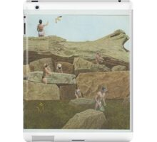 a day at the... rocks? iPad Case/Skin