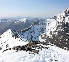 Carn Mor Dearg Arete by Ellis Lawrence