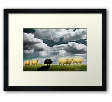 Clouds Over Helvetia Framed Print