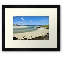 Luskentyre Beach, Outer Hebrides Framed Print
