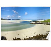 Luskentyre Beach, Outer Hebrides Poster