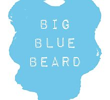 the Big Blue Beard by MonCreedon