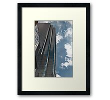 Boston: Highlines Framed Print