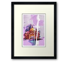 Flinders Street Station, Melbourne Framed Print