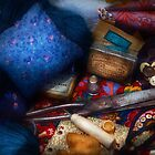 Sewing - Devoting to sewing  by Mike  Savad