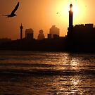 Dawn with duststorm, Dubai by Ian Sanders