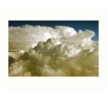 Cumulonimbus  clouds Art Print