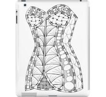Corset #1 iPad Case/Skin