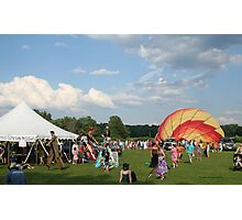 Green River Music Festival, getting ready for the parade! Photographic Print