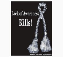 Lack of Awareness Kills-Blk Decal by Rabecca Primeau