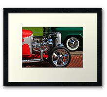 """ The Need For Speed "" Framed Print"