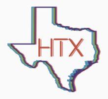 Houston Texas HTX Kids Tee