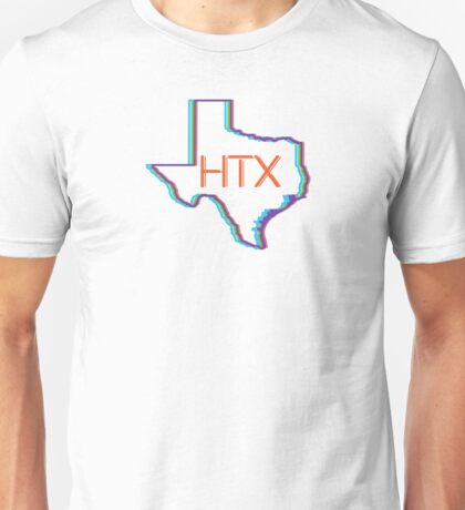 Houston Texas HTX Unisex T-Shirt