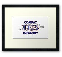 11Bravo - Combat Infantry Framed Print