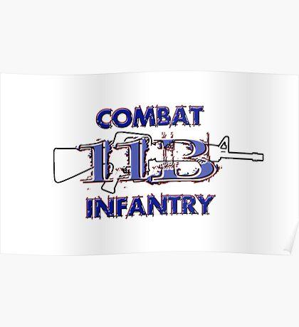 11Bravo - Combat Infantry Poster