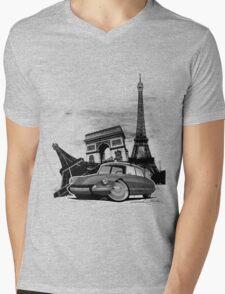 Paris DS Mens V-Neck T-Shirt