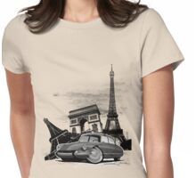 Paris DS Womens Fitted T-Shirt