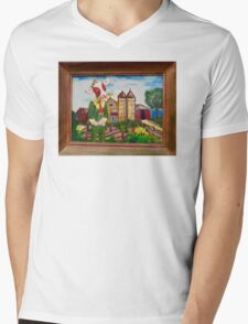 Cowpoken' Mens V-Neck T-Shirt