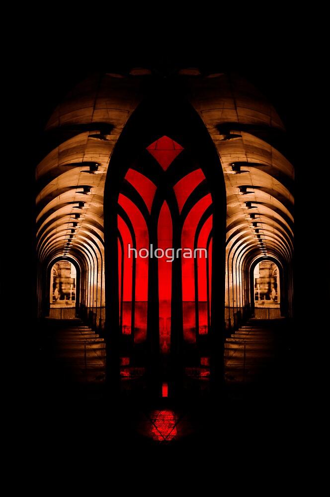 Mind-Altar by hologram