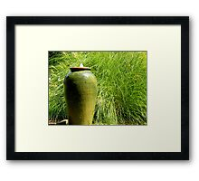 Green Garden  ^ Framed Print