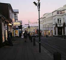 Christmastime in Reykjavik, Iceland by chipster