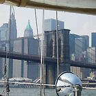 Sailing on the East River, Manhattan  by chipster