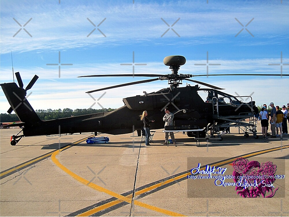 apache helicopter  by LoreLeft27