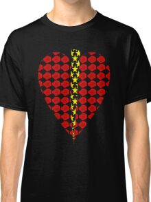 Rose Heart with Lightning Classic T-Shirt
