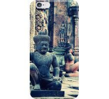 Inside the Temple - Siem Reap Cambodia iPhone Case/Skin