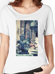 Inside the Temple - Siem Reap Cambodia Women's Relaxed Fit T-Shirt
