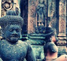 Inside the Temple - Siem Reap Cambodia Sticker