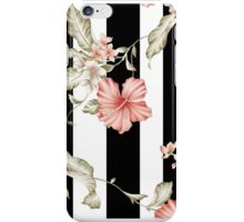 Floral Bars iPhone Case/Skin