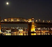 Burrard Bridge  by marija pavlovic