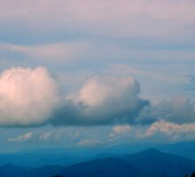 Open Virginia Skies Over the Blue Ridge by ctheworld