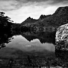 Lake Lilla_BW_Cradle Mountain_Tassie by Sharon Kavanagh