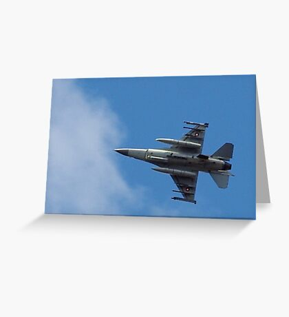 Fighting Falcon Greeting Card