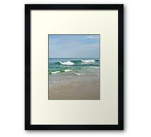 Perfect Day at the Beach Framed Print
