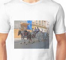 Tourist transport, Krakow, Poland Unisex T-Shirt