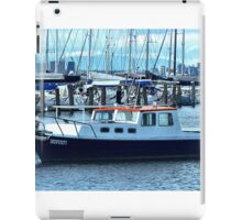 Red Roof - Cabin Cruiser moored at Williamstown, Vic. iPad Case/Skin