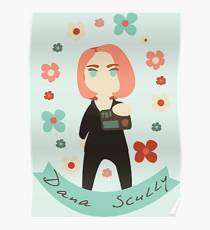 Dana Floral Poster
