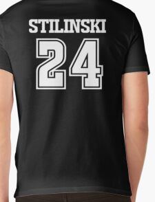 Stiles Stilinski Lacrosse Jersey - Back Mens V-Neck T-Shirt